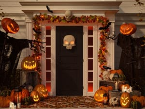 Halloween Foot Traffic Apply Organic Liquid Fertilizer to Grass Areas
