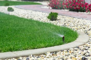 prevent water runoff border revive product use