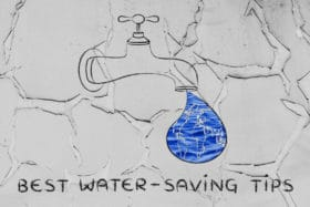best water saving tips use organic liquid fertilizer